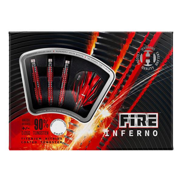 【チップ&送料無料】【ハローズ】FIRE INFERNO ファイア インフェルノ | 2BA18.0g | ダーツ バレル