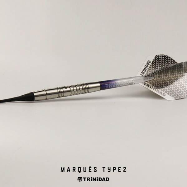 【チップ&送料無料】【トリニダード】Marques Type2 マルケス2 | 2BA18g | ジョゼマルケス選手 | ダーツ バレル