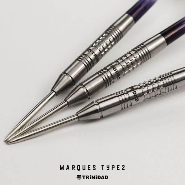 【チップ&送料無料】【トリニダード】Marques Type2 マルケス2   スティール   ジョゼマルケス選手   ハードダーツ バレル