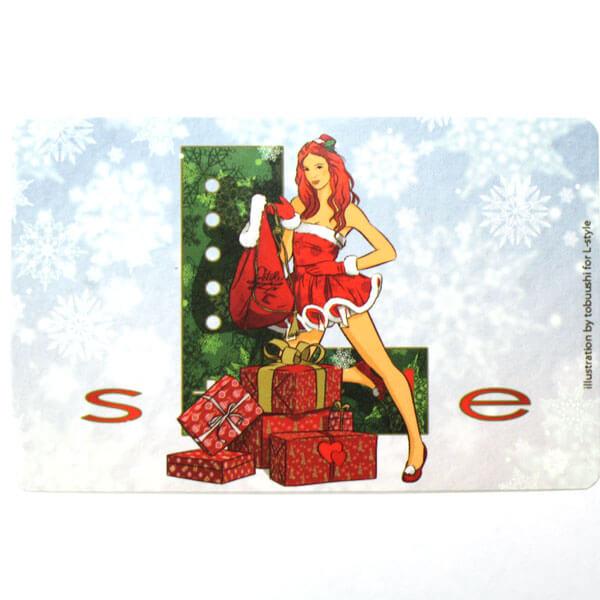 【L-style エルスタイル】ステッカーシール | クリスマス | ダーツカードシール