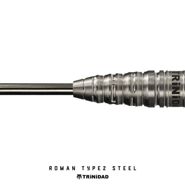 【チップ&送料無料】【トリニダード】Roman Type2 ローマン2 | スティール20.5g | 宮脇実由選手 | ハードダーツ バレル