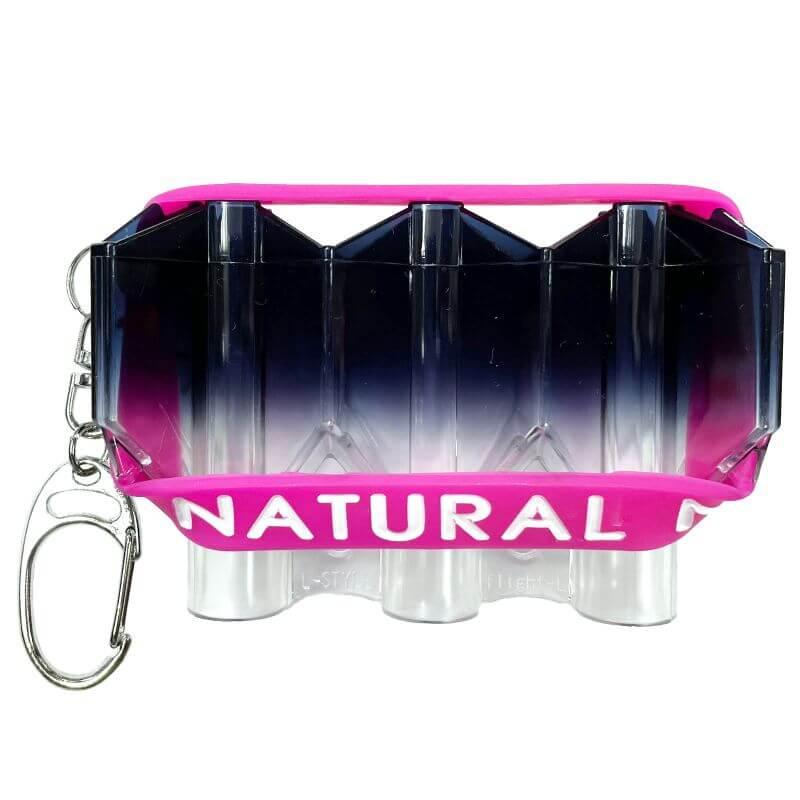 【ナチュラルナイン】クリスタル クールブラック グラデーション フライトケース