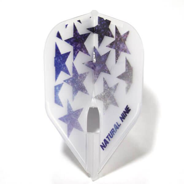 【ナチュラルナイン】Orion オリオン クリアホワイト シェイプ ダーツ フライト
