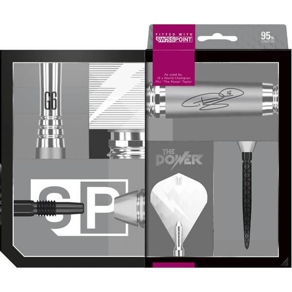 【チップ&送料無料】【ターゲット】パワー95 G6   スイスポイント26g   フィルテイラー選手   ハードダーツ バレル