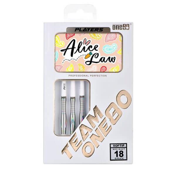 【チップ&送料無料】【ONE80】Alice Law | 2BA18.0g | アリスロー選手 | ダーツ バレル