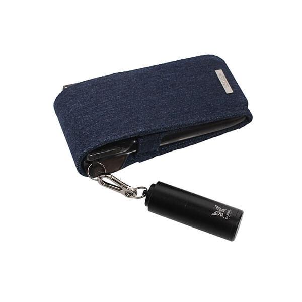 【カメオ】TIP AND SHAFT CASE ALUMINIO チップ&シャフトケース アルミニオ   ブラック   チップケース
