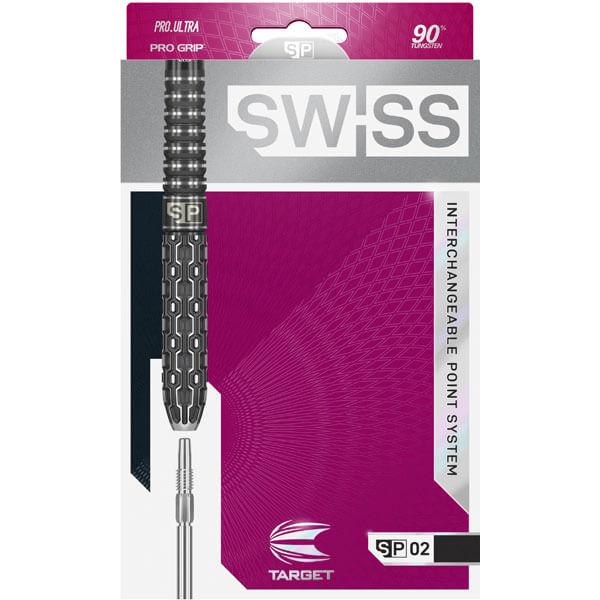 【チップ&送料無料】【ターゲット】スイスポイントSP02   21g   ハードダーツ バレル