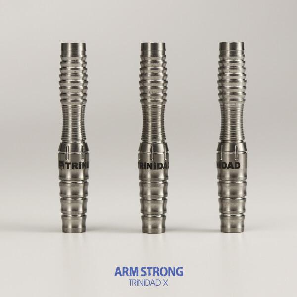 【10/17発売】【チップ無料】【トリニダード Xシリーズ】ARMSTRONG アームストロング / 2BA19.0g / ダーツ バレル