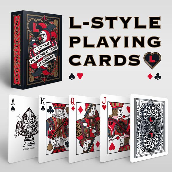 【L-style エルスタイル】プレイングカード (トランプ) ダーツ雑貨