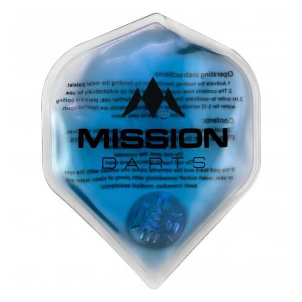 【ミッションダーツ】ミッションフラックス ラグジュアリーハンドウォーマー | ブルー | ダーツ雑貨