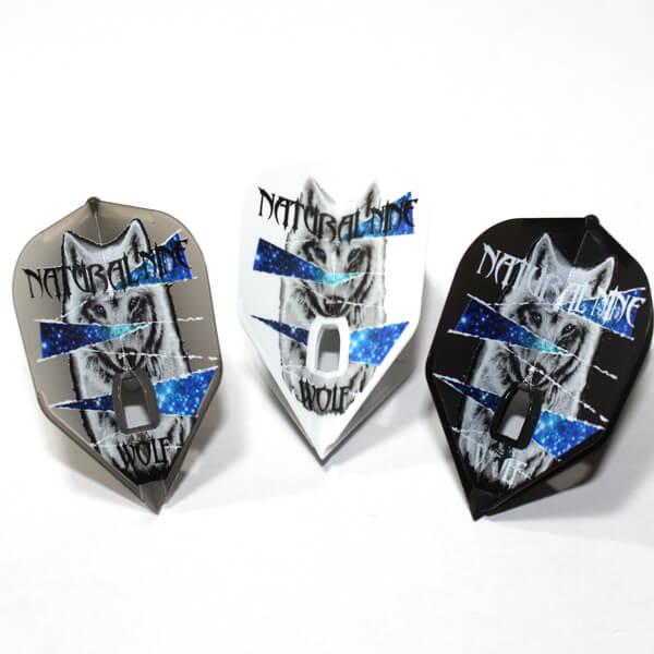 【ナチュラルナイン】ルプス | ミックス | シェイプ | ダーツ フライト