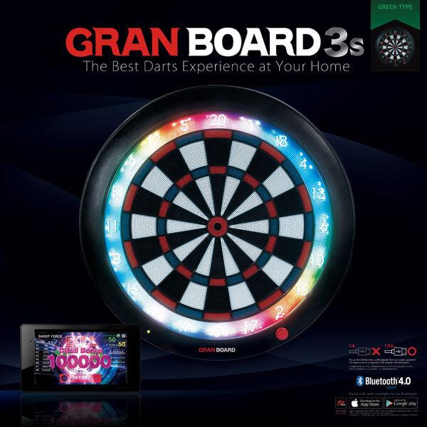 【送料無料】【グランダーツ】グランボード3S | グリーン | ダーツボード