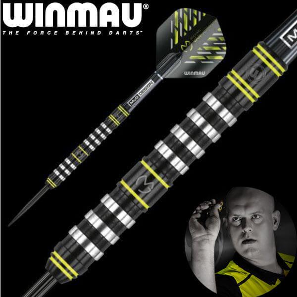 【チップ&送料無料】【Winmau】MvG Assault アサルト | スティール22.0g | マイケルヴァンガーウェン選手 | ハードダーツ バレル