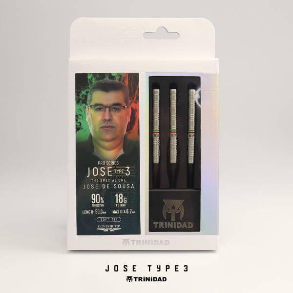 【チップ&送料無料】【トリニダード】Jose Type3 ホゼ3 | Jose De Sousa選手 | ダーツ バレル