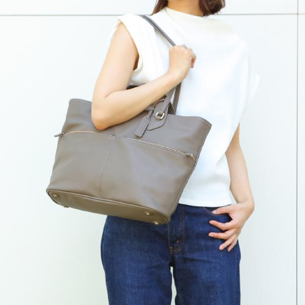 【70%OFFセール品】OREGION マリー ダブルハンドルトートバッグ