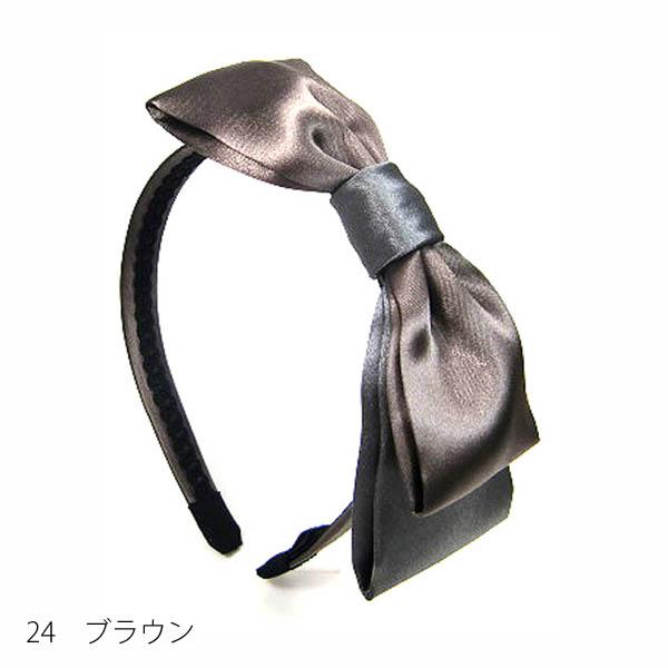 【セール品】レーヌ・クロード バイカラーリボンカチューシャ(品番157829)