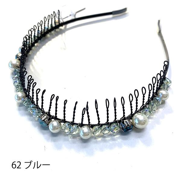 【セール品】レーヌ・クロード ブロッサムクチュール櫛付きカチューシャ 品番157370