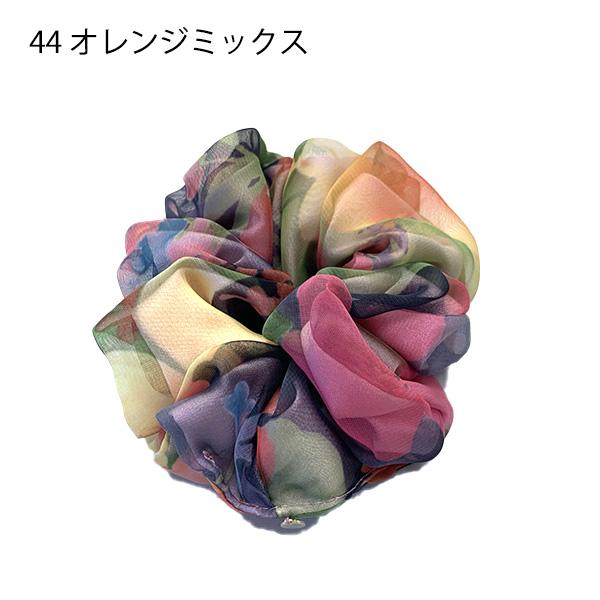 【セール品】レーヌ・クロード フラワーシフォンシュシュ(品番157820)