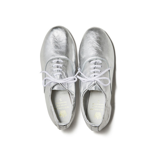 CROWN / 5EYELET OXFORD-SILVER