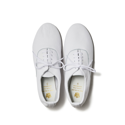 CROWN / 5EYELET OXFORD-WHITE