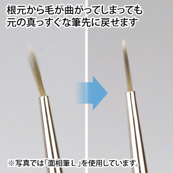 ゴッドハンド 神ふで スミ入れ筆 直販限定 日本製 模型用 墨入れ 面相筆
