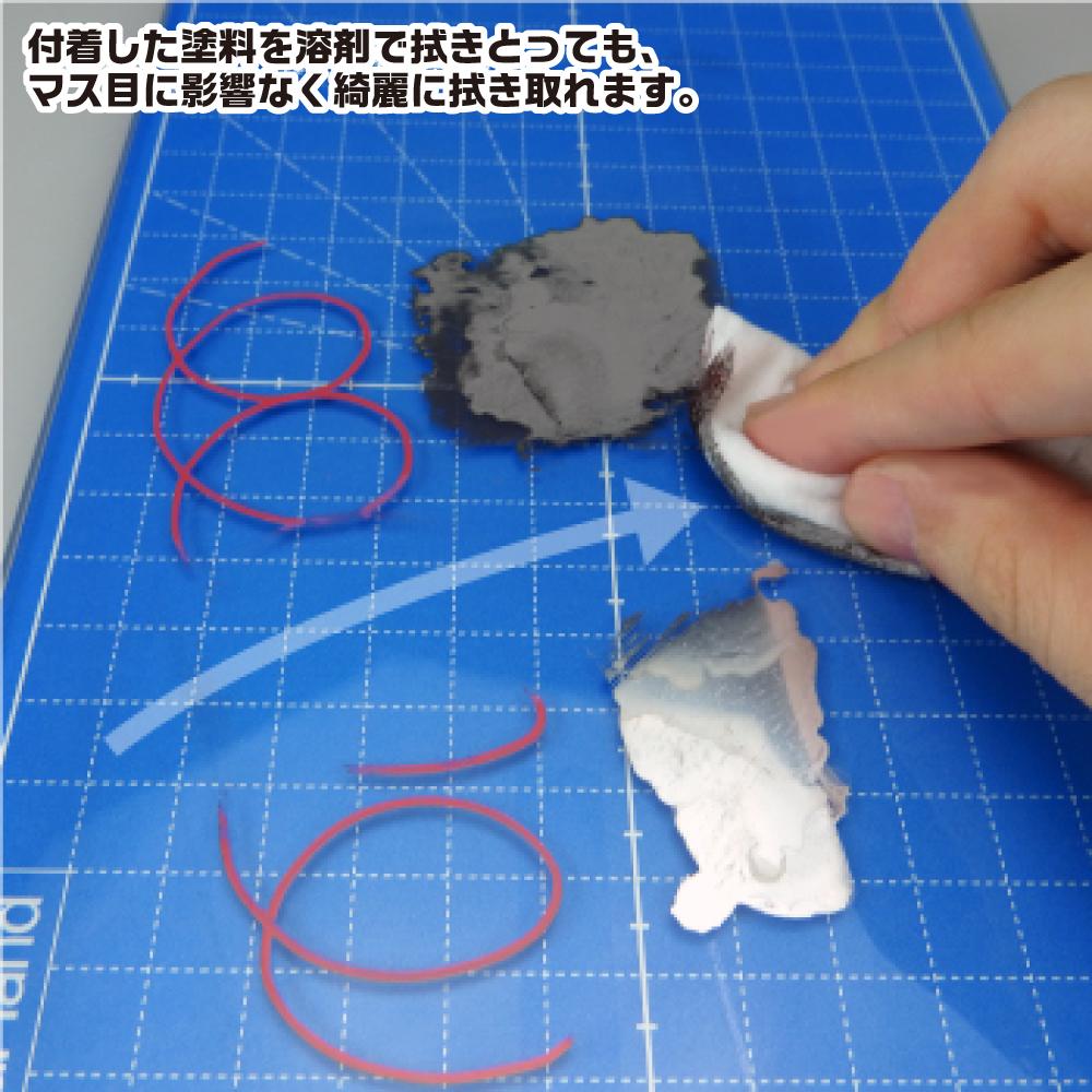 ゴッドハンド ガラスカッターマット A5近似サイズ(151x227mm) ネコポス同梱1枚まで 耐熱ガラス 革 裁断 切り絵