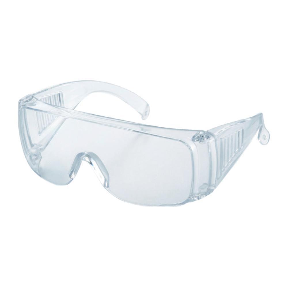 トラスコ中山 一眼型セーフティグラス レンズ透明 (眼鏡併用可) 取寄品 ネコポス非対応 保護メガネ 安全メガネ