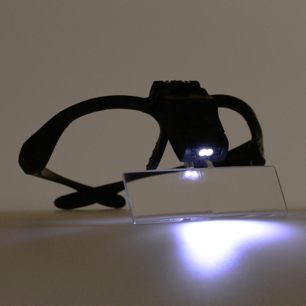 シーフォース クラフトルーペメガネ式 5枚レンズ入り M92B ネコポス非対応 眼鏡 拡大鏡