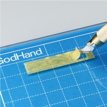 ゴッドハンドセレクト ガラスカッティングセット ネコポス選択可:同梱1セットまで 直販限定 耐熱ガラス 革 裁断 切り絵