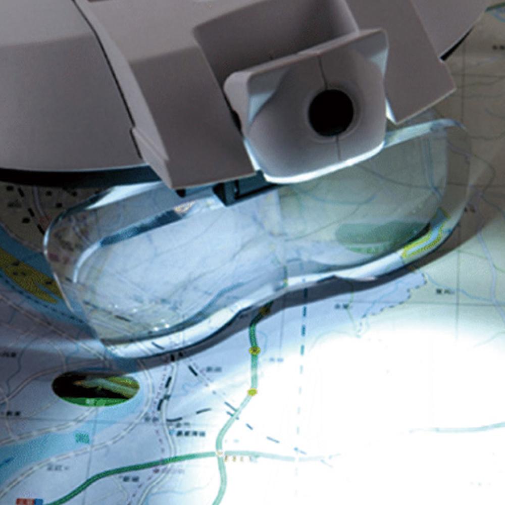 シーフォース LED ヘッドルーペ WHL80 ネコポス非対応 拡大鏡 眼鏡