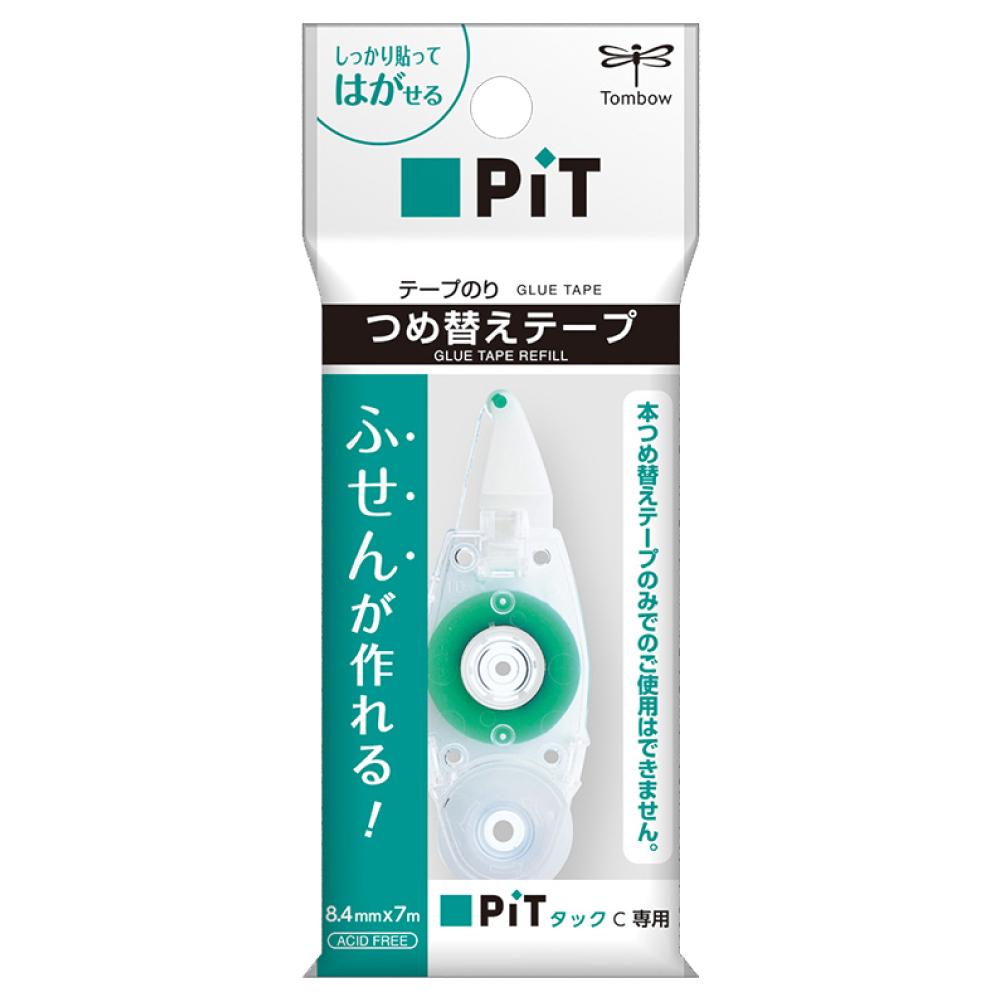 トンボ鉛筆 テープのり ピットタックC専用 つめ替えテープ 接着 テープ糊