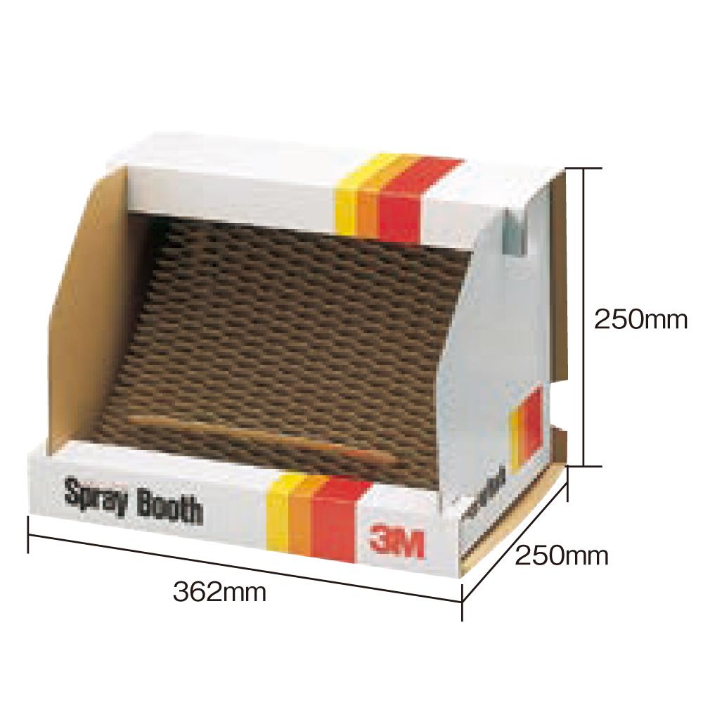 3M スプレーブース BOOTH ネコポス非対応 飛散防止 簡易組立て のり 塗料 エアブラシ