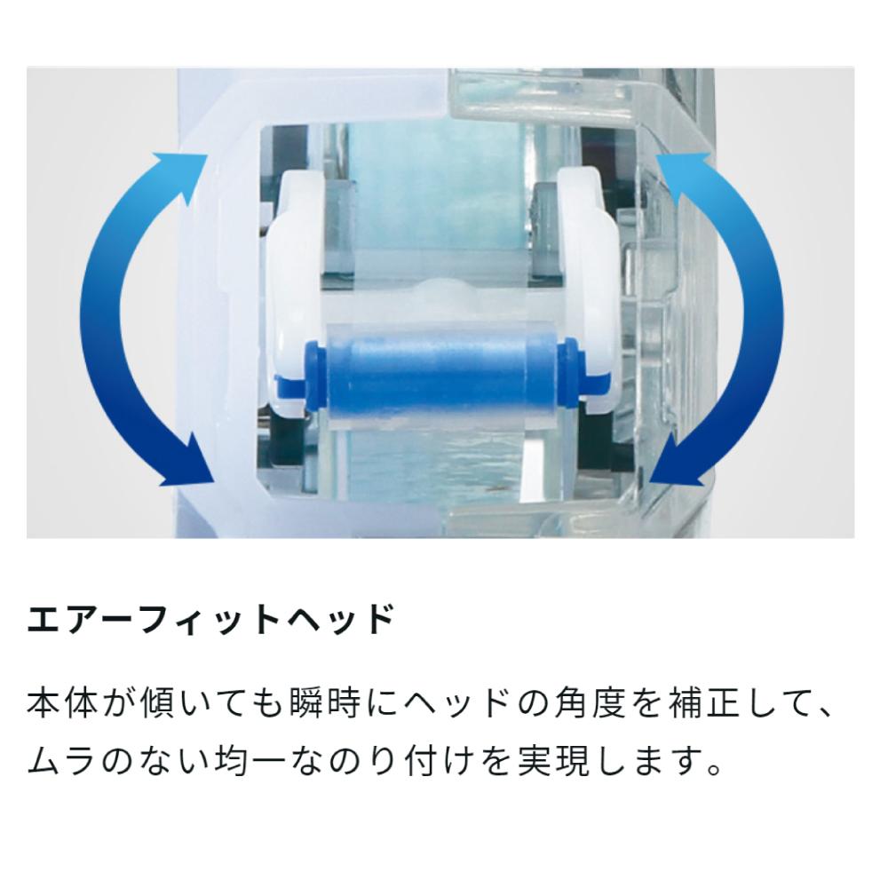 トンボ鉛筆 テープのり ピットエアー ミニ 6mm×10m 各種 接着 テープ糊