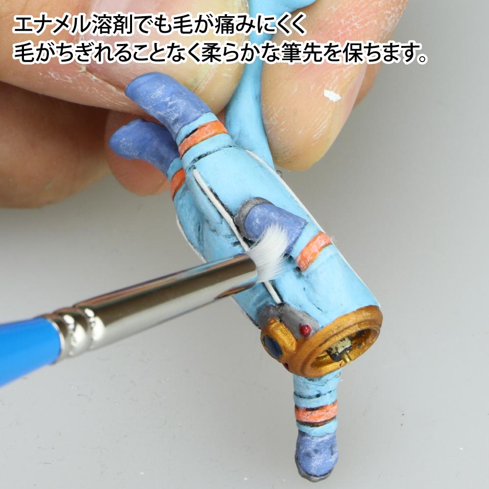 ゴッドハンド 神ふで ドライ筆 (専用キャップ付) 日本製 模型用 塗装用
