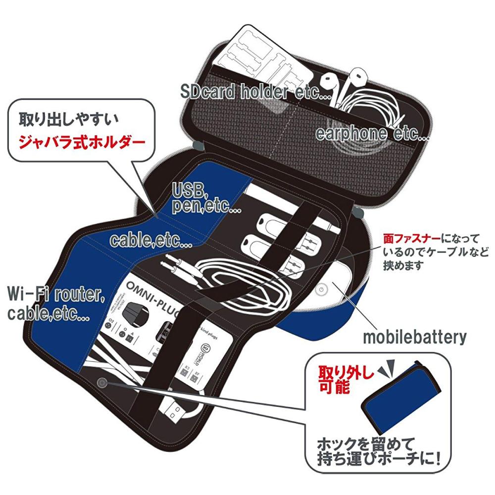 コンサイス ベローズ ガジェットケース 各種 ネコポス非対応 ジャバラ式 ツールケース