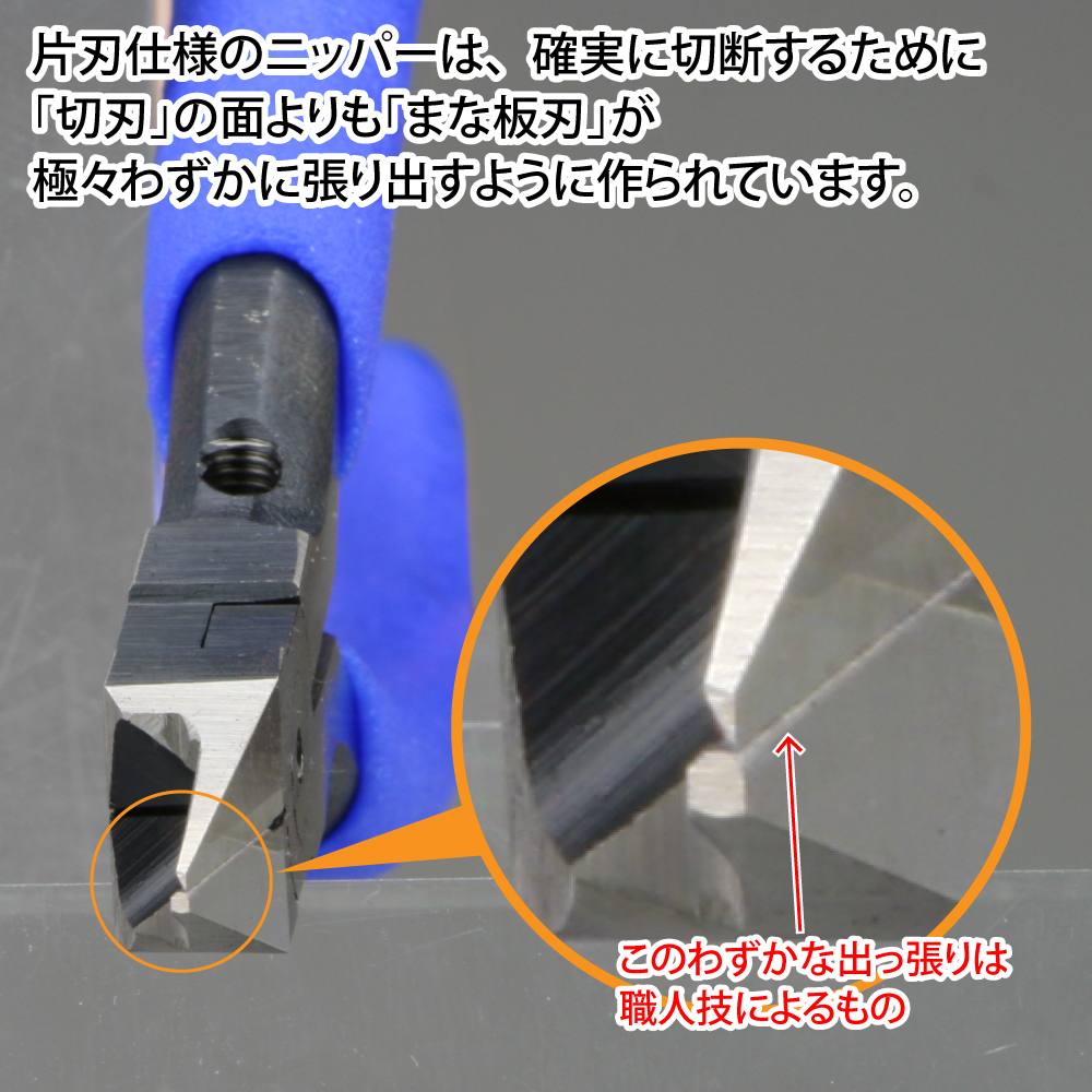 ゴッドハンド ブレードワンミニ 直販限定 右手用 片刃