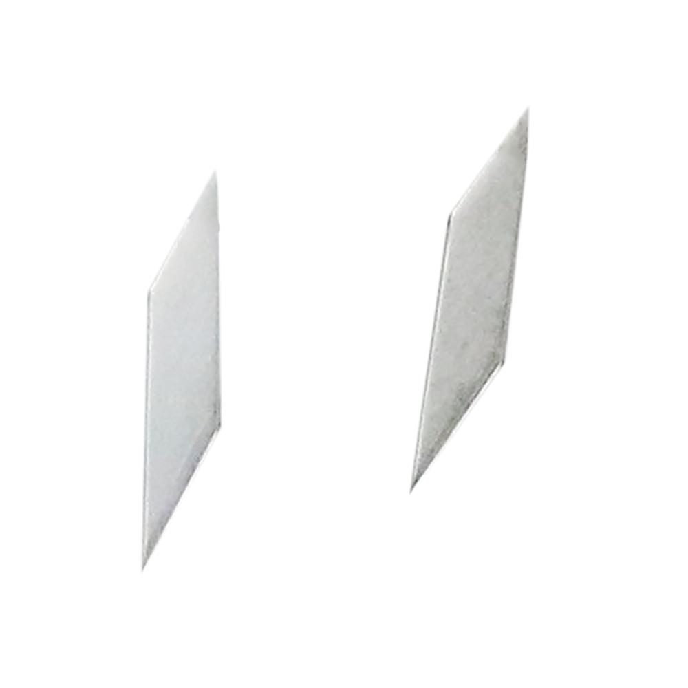 雲母堂本舗 極細彫刻刀 カッターノミ0.5mm〜0.6mmセット きらら堂本舗 刃 ノミ デザインナイフ