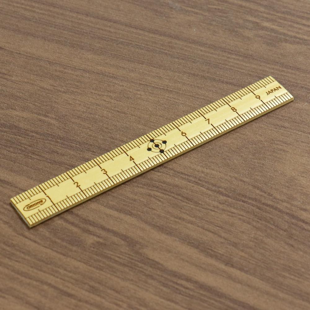 共栄プラスチック たけものさし 10cm ミニ 小型 竹物差し 竹ものさし