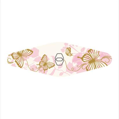 ダイヤモンドファイル Carry (ピンク 蝶々)