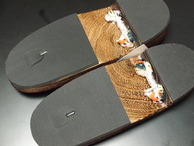 【下駄】婦人用下駄 ゲタ 祭用履物 祭り用靴 雪駄 サンダル 草履 Mサイズ 送料別途 あす楽【新品】