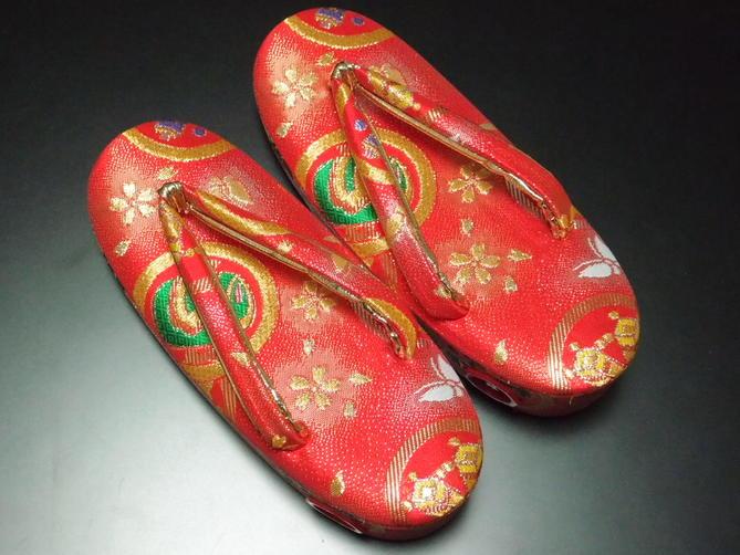 七五三礼装用女児草履【18.0cm/Mサイズ】【新品】