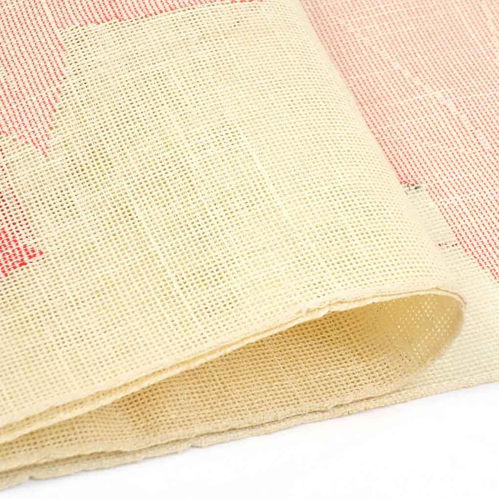 リサイクル帯 名古屋帯 / 正絹薄黄色地紅葉柄夏物八寸名古屋帯 レディース 夏用 シルク イエロー フリーサイズ幅30cm 長さ364cm【ランクA】