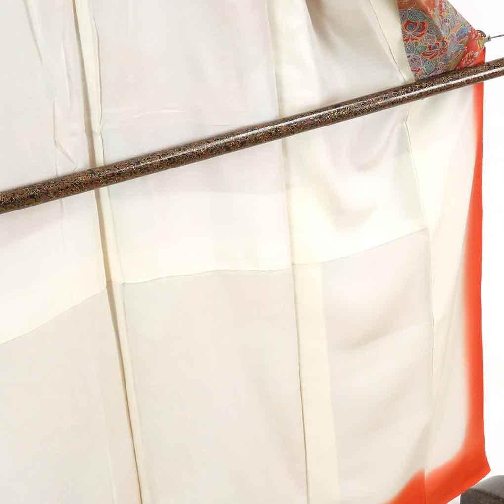 リサイクル着物 小紋 / 正絹グレー地袷小紋着物 レディース 秋冬春用 シルク グレー 裄Sサイズ身丈153cm 裄61cm 前幅22cm 後幅29.5cm 袖丈49cm【ランクA】