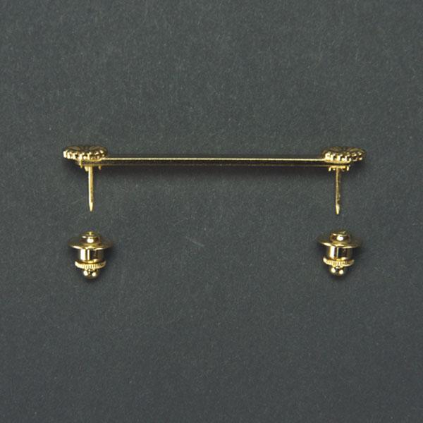 佩用金具 【一ツ掛 佩用金具 6.0cm】桐箱入り