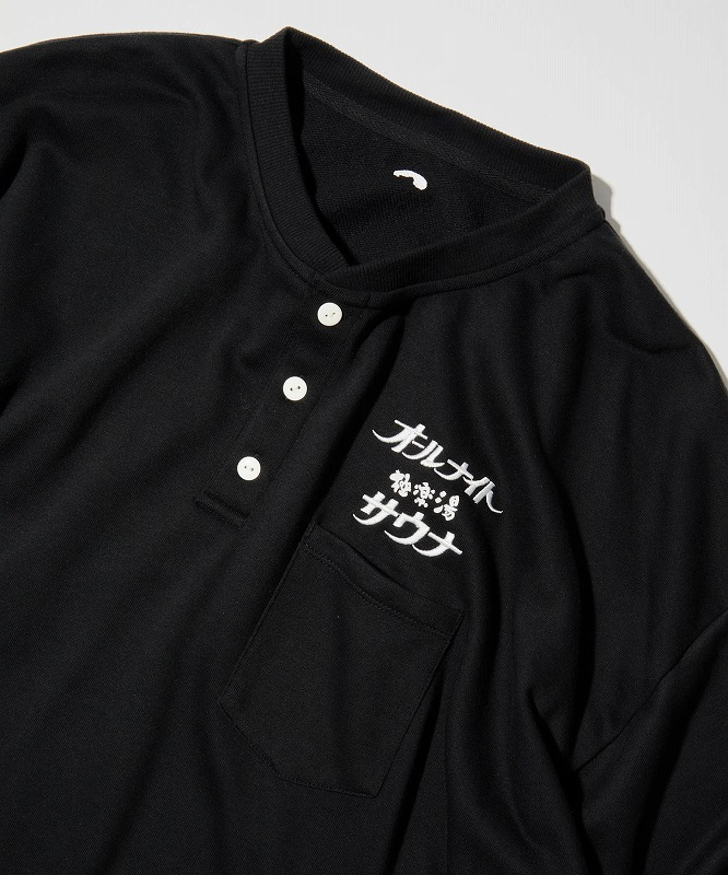 【極楽湯×SAUVENIR】オールナイトサウナKAN-NAIGI 極楽湯vwr(ブラック)