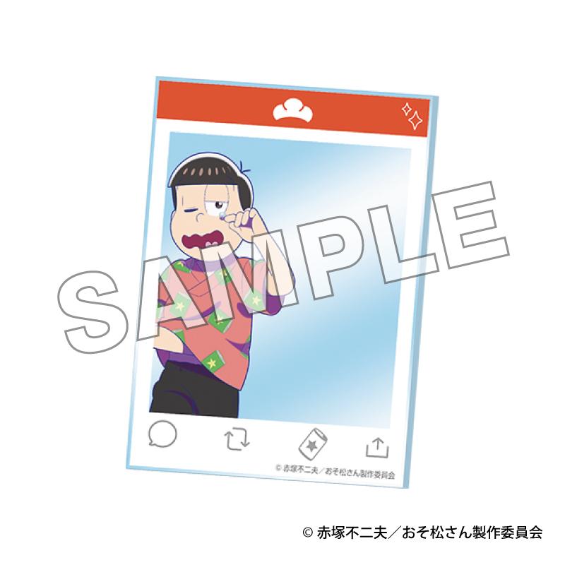 「【「おそ松さん」×極楽湯コラボ商品】アクリルカード (ランダム6種)」