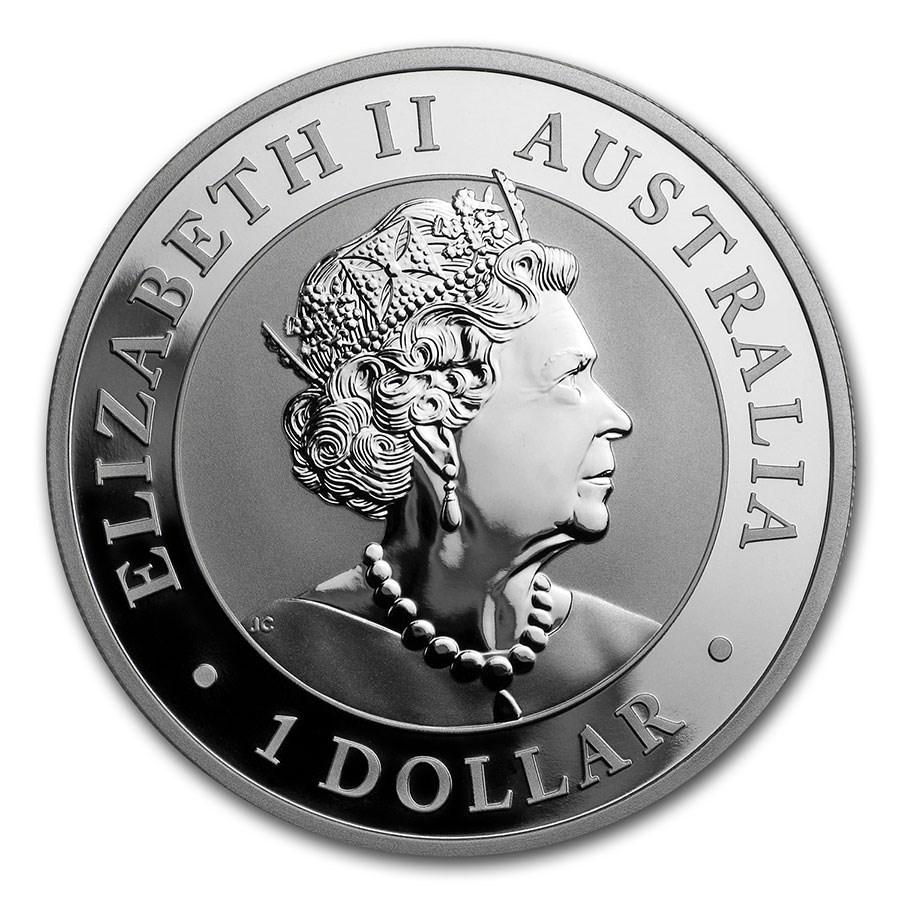 コアラ銀貨 1オンス 2020年製 クリアケース入り