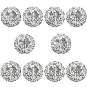 ★サマーセール!!セットがお得です★ ウィーン銀貨 1オンス 10個セット