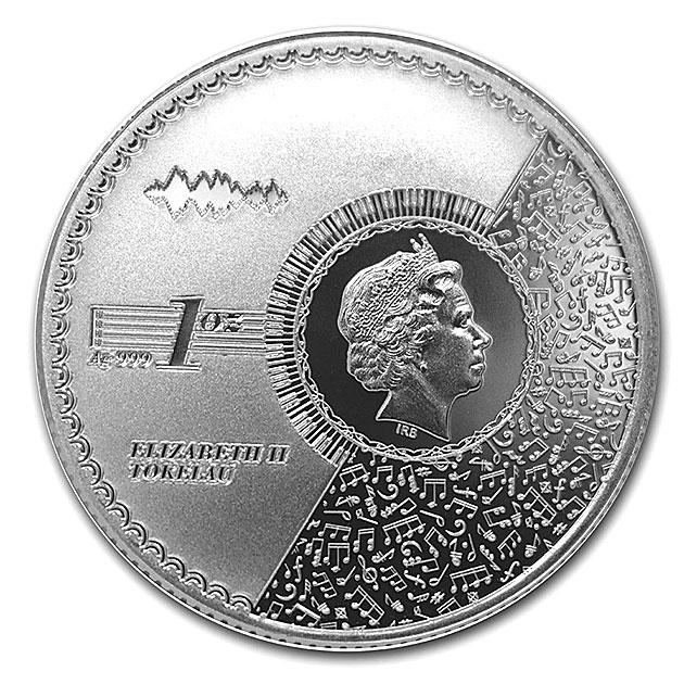 【父の日セール!】ヒューマニタス銀貨 1オンス2021年製