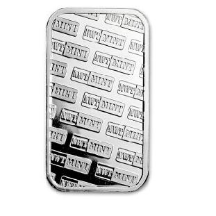 『ノースウエスト テリトリアルミント シルバーバー 1オンス』純銀 インゴット ノースウエストテリトリアルミント発行 アメリカ 31.1g 品位:99.9% 純銀 シルバー アメリカ合衆国 【保証書付き】